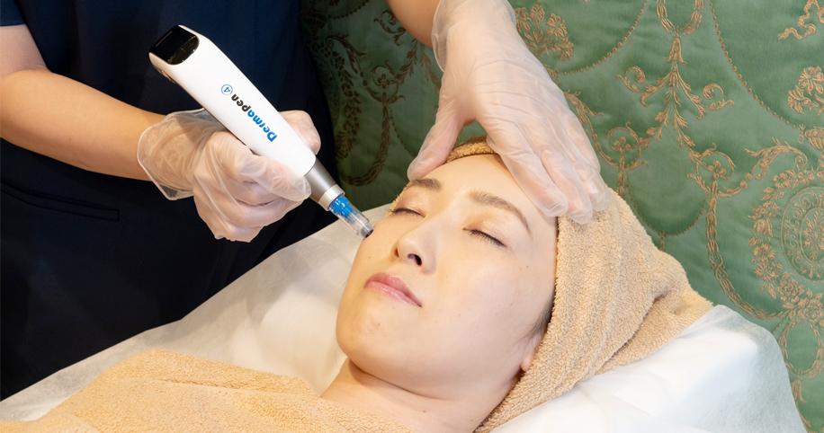 シワ、ニキビ跡、毛穴の開きを総合的に治療